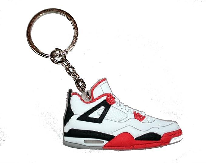 Air Jordan llavero con 4/llavero con muñeca - Fire rojo