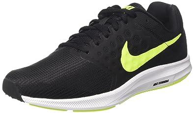 c70a730071 Nike Men's Downshifter 7 Fitness Shoes, (Black/White/Volt), 9 UK 44 ...