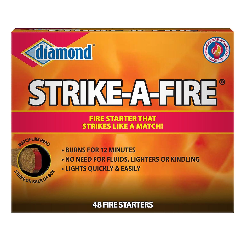amazon com diamond strike a fire starters by pine mountain 96