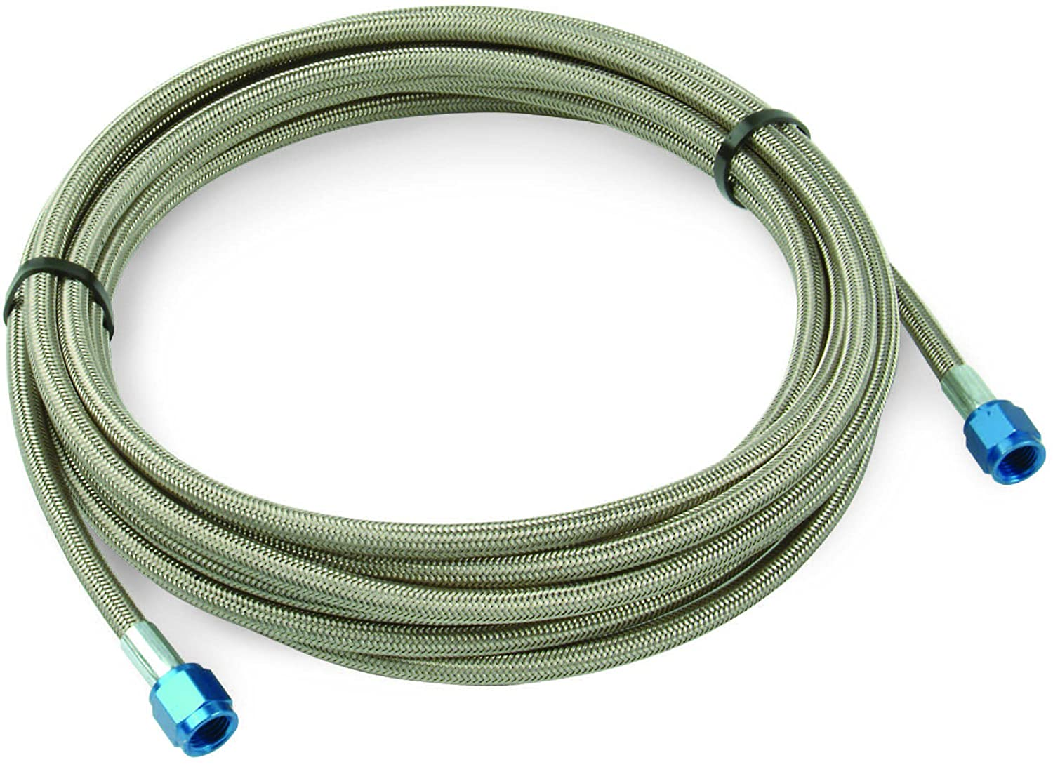 Design Engineering 080205 CryO2 Stainless Steel Braided Hose, 4AN Female x 1/8 NPT Male, 3' 3'