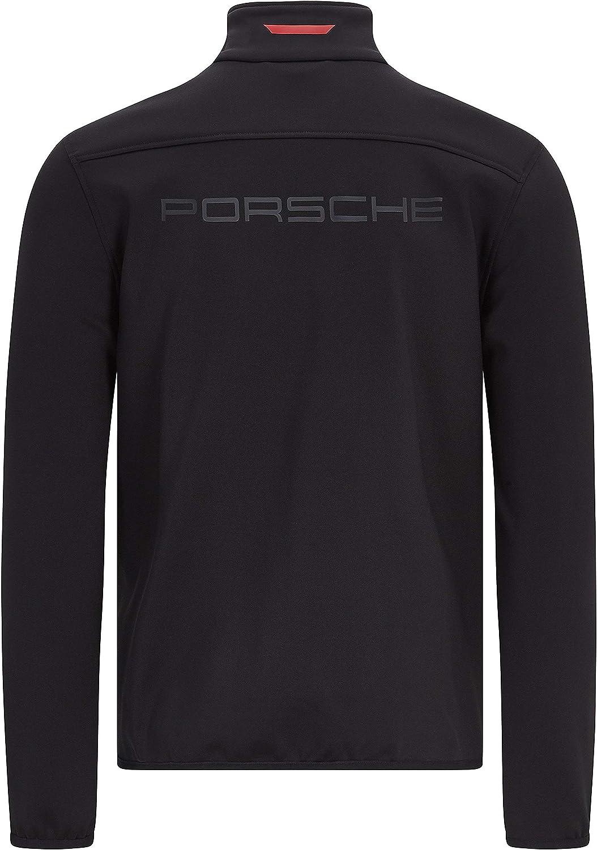 Porsche Motorsport Herren Softshell Jacke Schwarz