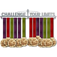 Challenge Your Limits Medal Hanger Display | Motivational Medal Holders | Stainless Steel Medal Display | by VictoryHangers - The Best Gift For Champions !