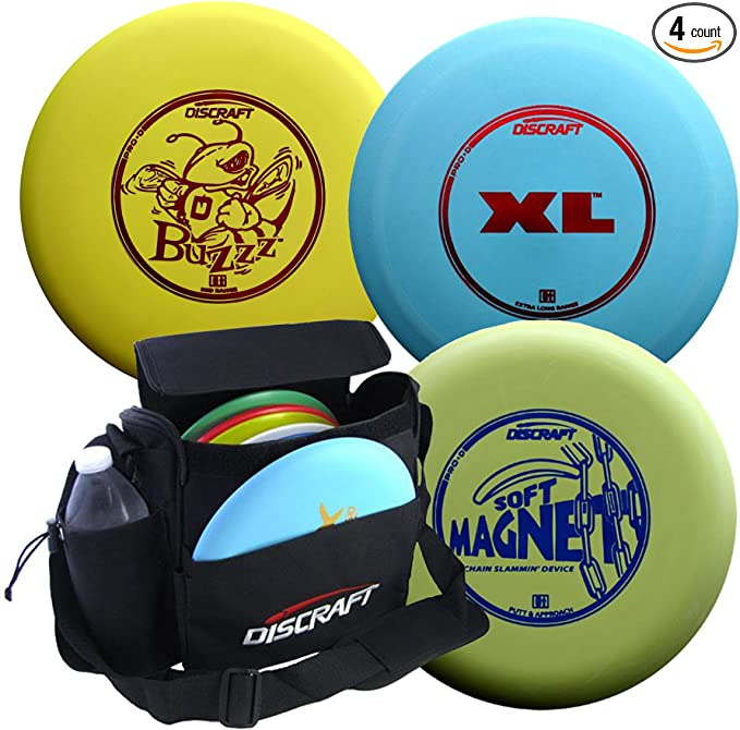 Discraft Disc Golf Pro-D Starter Package best disc golf set