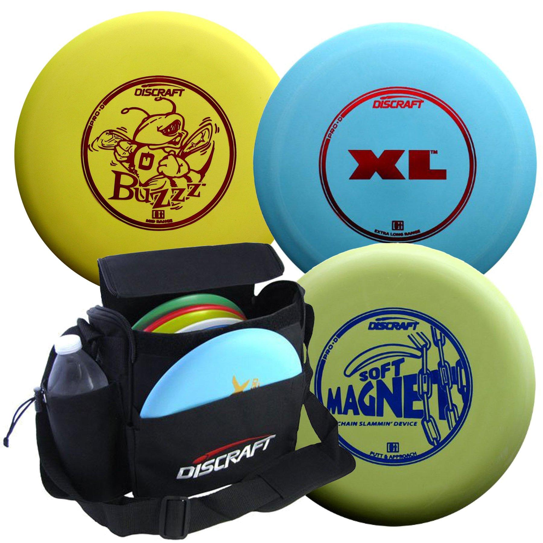 Discraft Disc Golf Pro-D Starter Package by Discraft