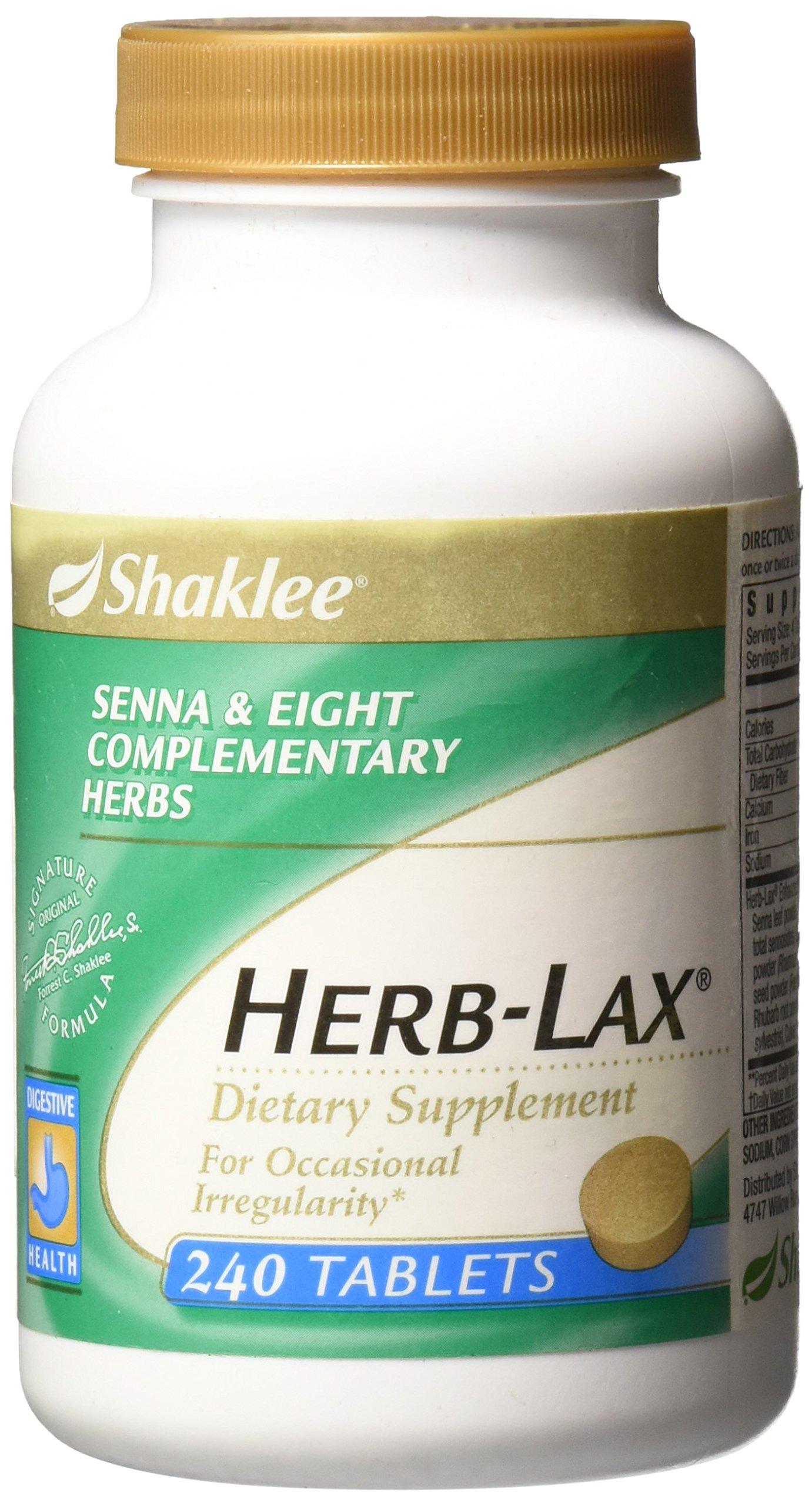 Shaklee® Herb-Lax® (240 Tablets)