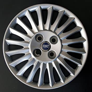 "Area - Tapacubo, tamaño 15"", para Fiat Grande, Punto 2005, logo"