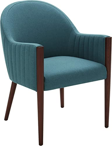 Amazon Brand Rivet Contemporary Curved-Back Dining Chair
