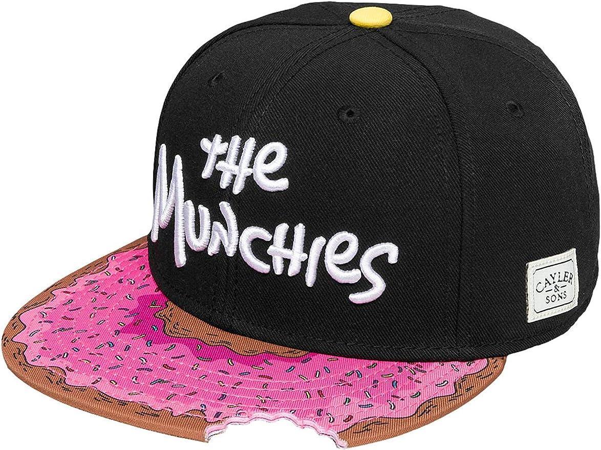Cayler & Sons - Gorra - Black/Pink Donut: Amazon.es: Deportes y ...