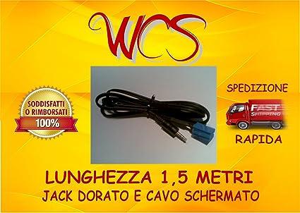 no source available Cavo aux Fiat Punto 2012-2013 radio Delphi Grunding