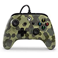 Wired Officially Licensed Controller For Xbox One, S, Xbox One X & Windows 10 - Deep Jungle Camo