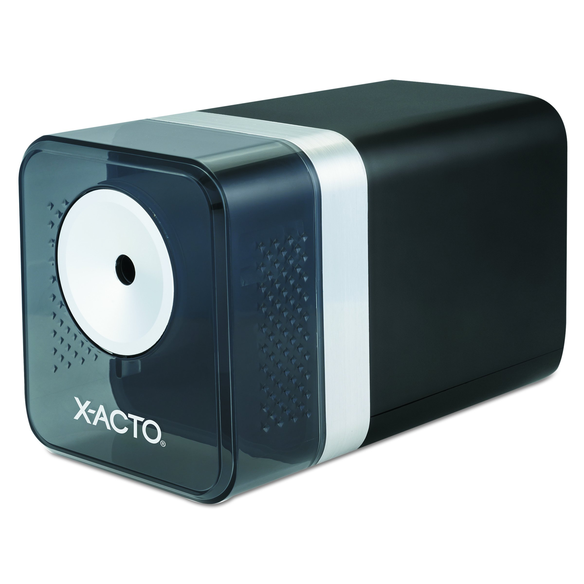 X-ACTO 1744 Power3 Office Electric Pencil Sharpener, Black