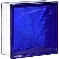 5 piezas FUCHS bloques de vidrio nube azul