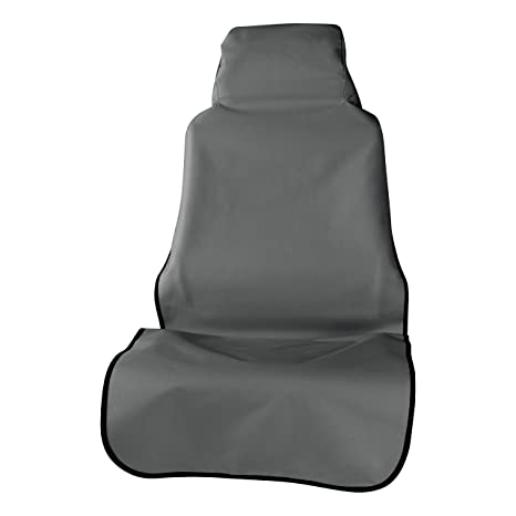 Awesome Aries 3142 01 Defender 23 5 X 58 25 Inch Grey Universal Bucket Car Seat Cover Protector Spiritservingveterans Wood Chair Design Ideas Spiritservingveteransorg