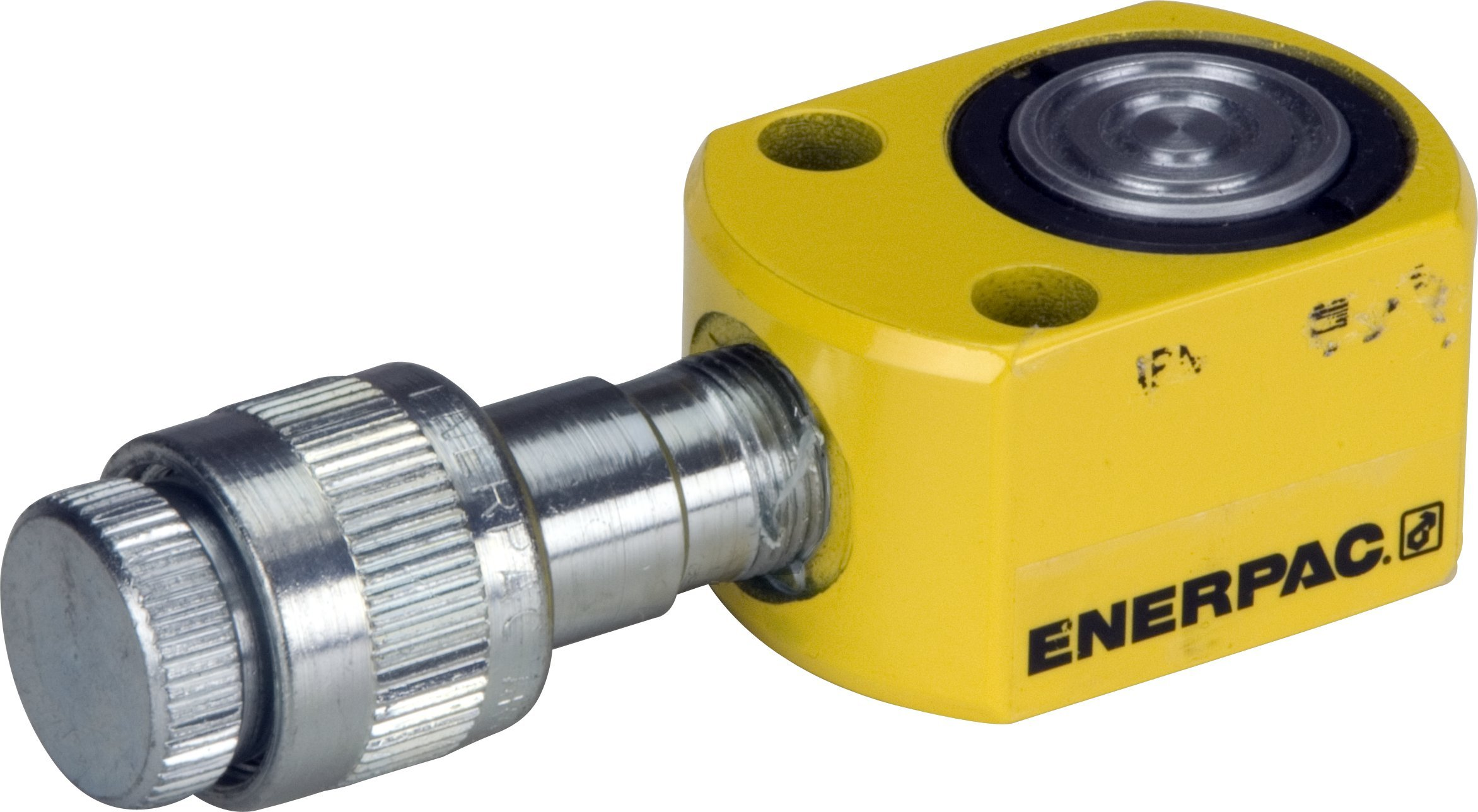 Enerpac RSM-50 Flat Jac Single-Acting Low-Height Hydraulic Cylinder with 5-Ton Capacity, Single Port, 0.25'' Stroke Length