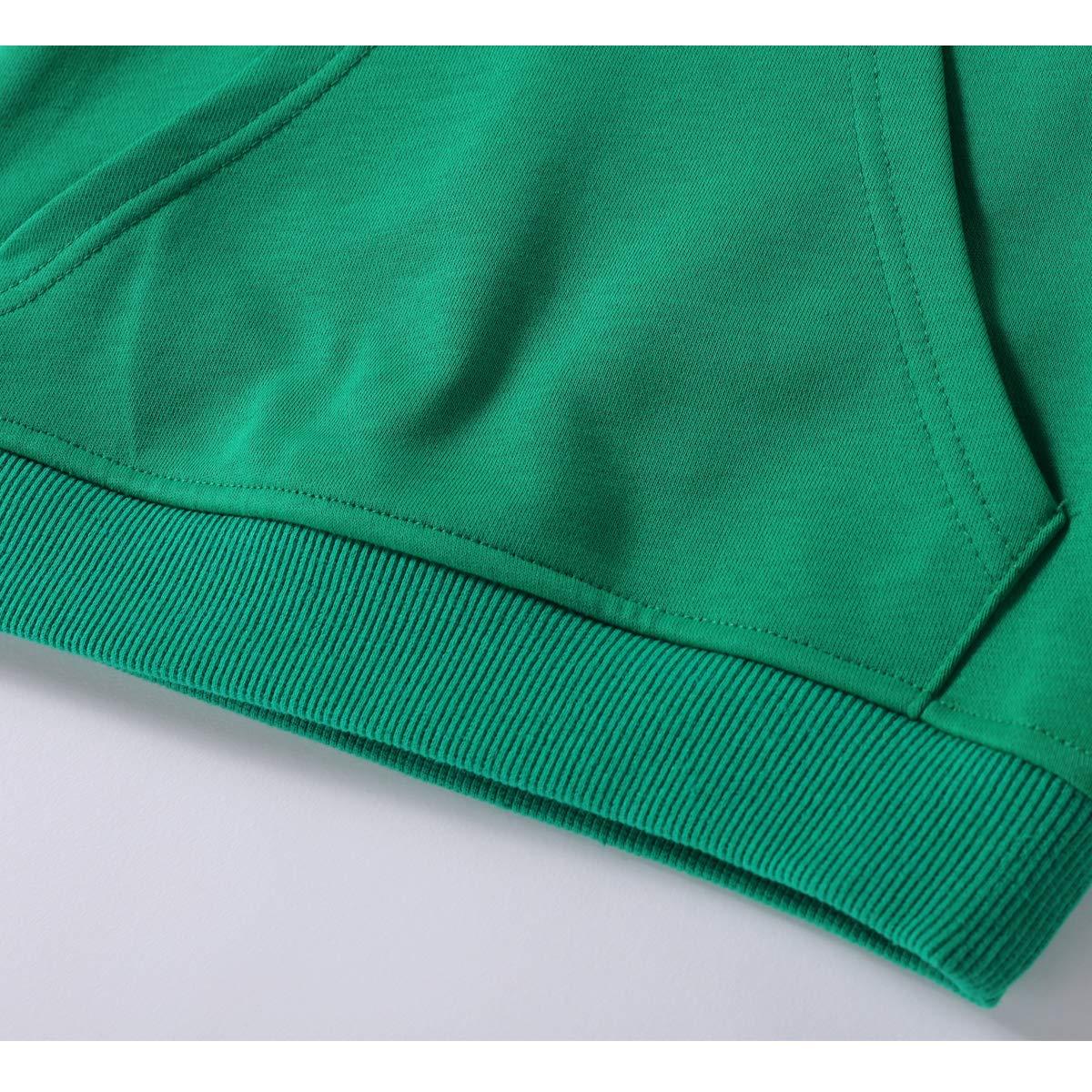 ALALIMINI Boys Hoodies Toddler Kids Pullover Sweatshirts Solid Fleece Cotton Lightweight 2-5T
