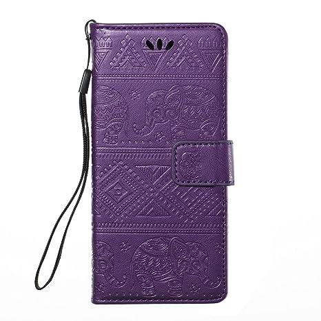 Felfy Wallet Carcasa Compatible con Sony Xperia XA Funda ...