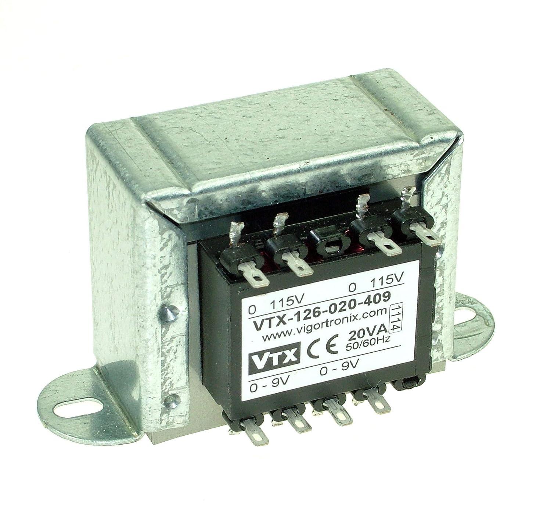 Vigortronix VTX-120-3803-212 PCB Transformer 230V 3VA 12V+12V