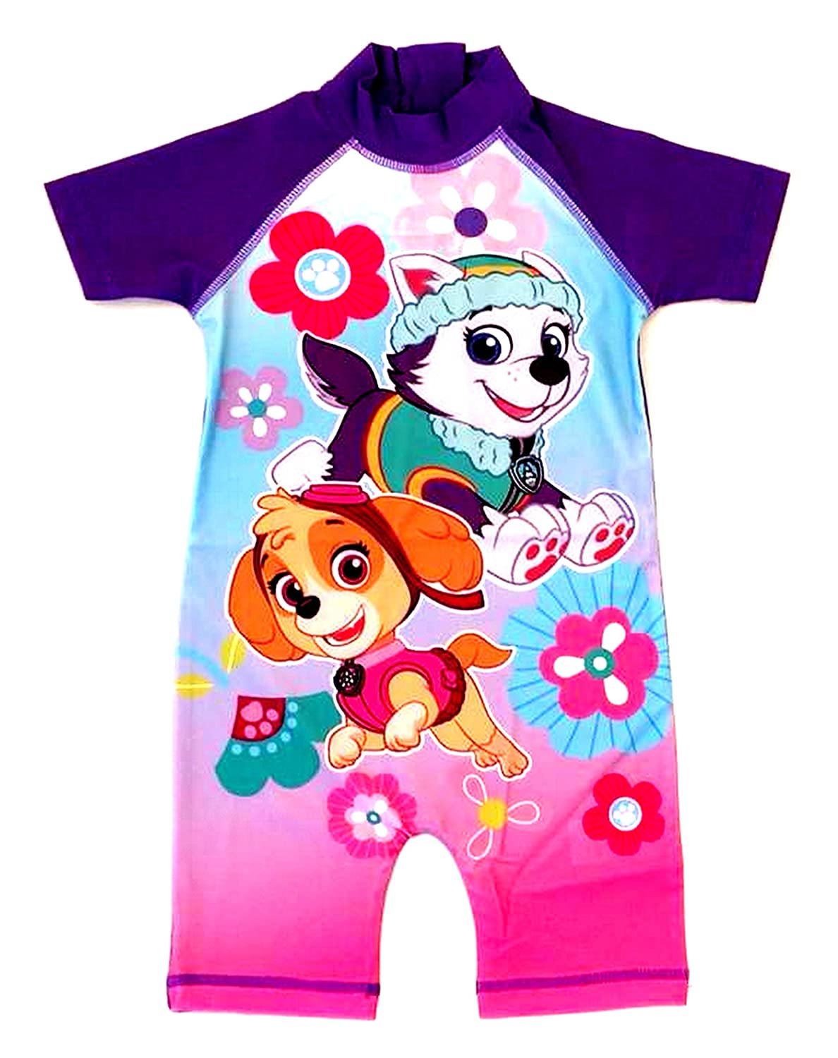 PAW Patrol surf Suit, Swim Suit, Swimming Costume - Ages 18/24mths, 2/3, 3/4, 4/5yrs