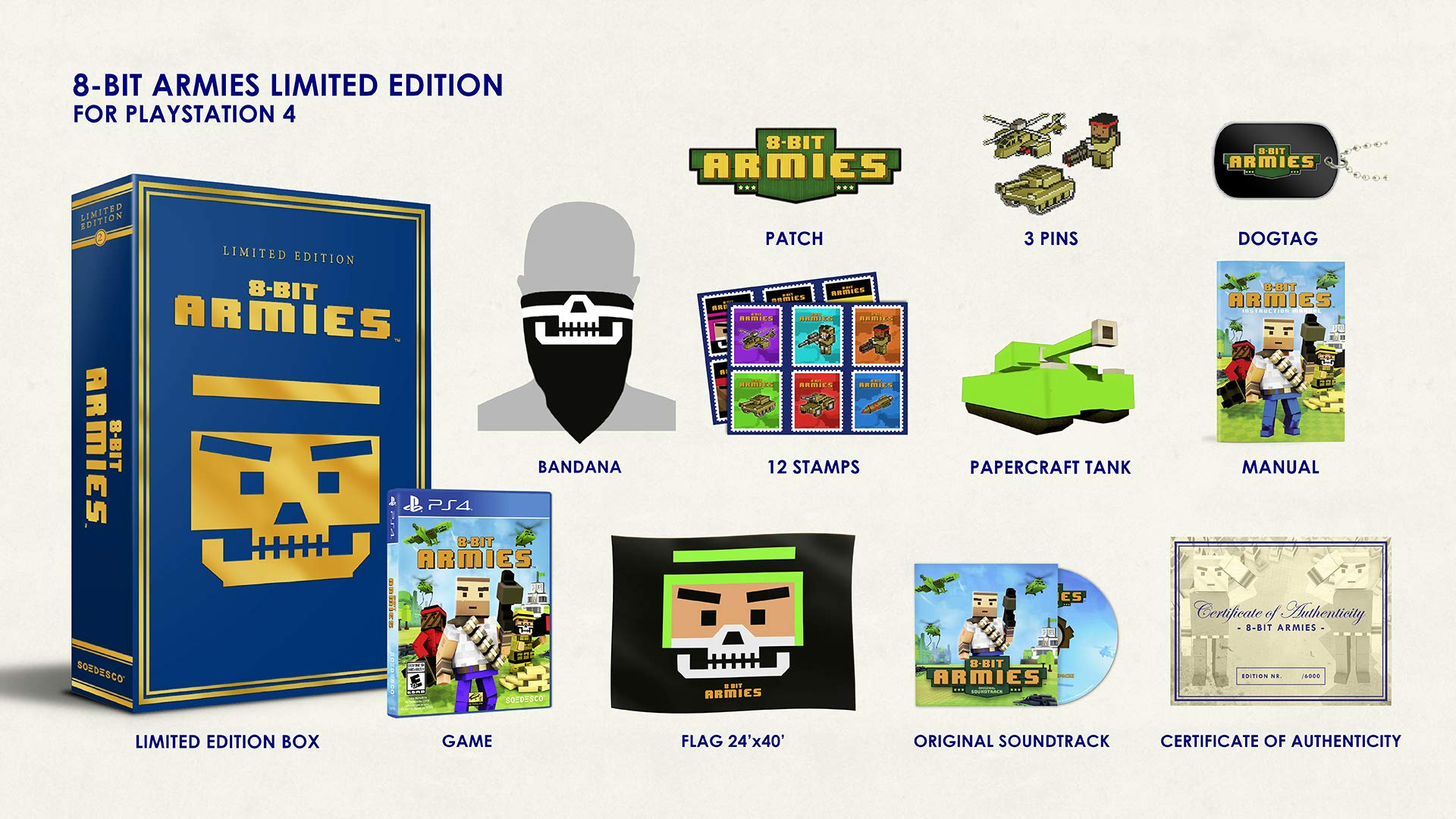 8-Bit Armies: Limited Edition - PlayStation 4