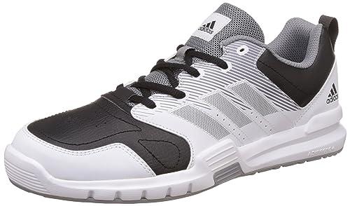 Adidas Essential Star 3 M, Zapatillas Deportivas para Interior para Hombre, (Cblack/