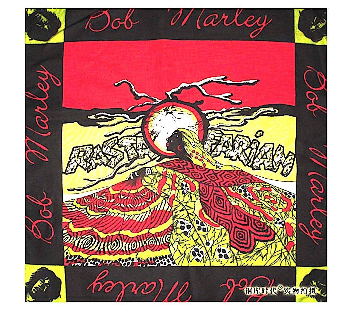 Bob Marley Rastafarian Original Bandana Weed Lovers