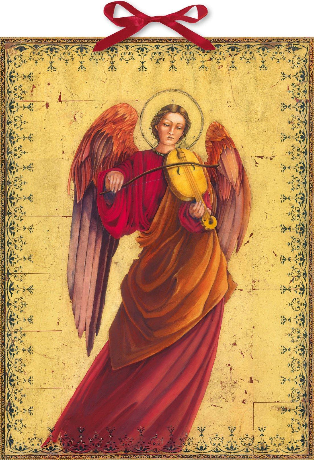 Engel in Rot