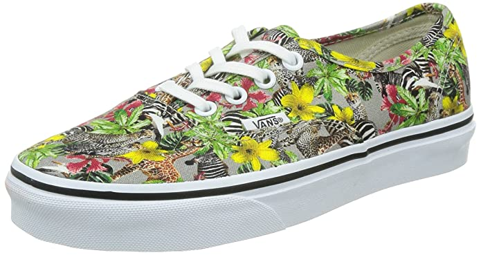 Vans Authentic Unisex Erwachsene Low Top Bunter Zoo