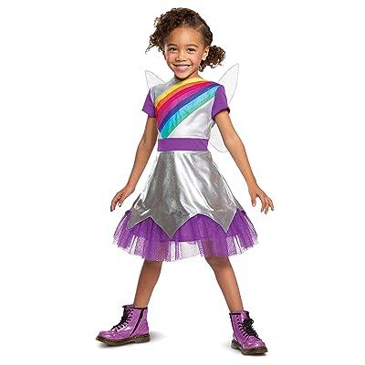Child's Classic Rainbow Rangers Lavender Laviolette Costume: Toys & Games