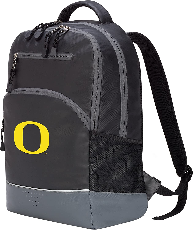 Officially Licensed NCAA Oregon Ducks Alliance Backpack 19 Black