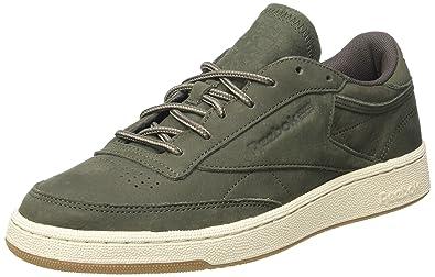 best loved 88225 2470b Reebok Men s Club C 85 Wp Gymnastics Shoes, (Hunter Green Urban Grey