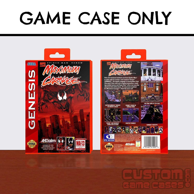 Sega Genesis Spider-Man and Venom: Maximum Carnage - Case