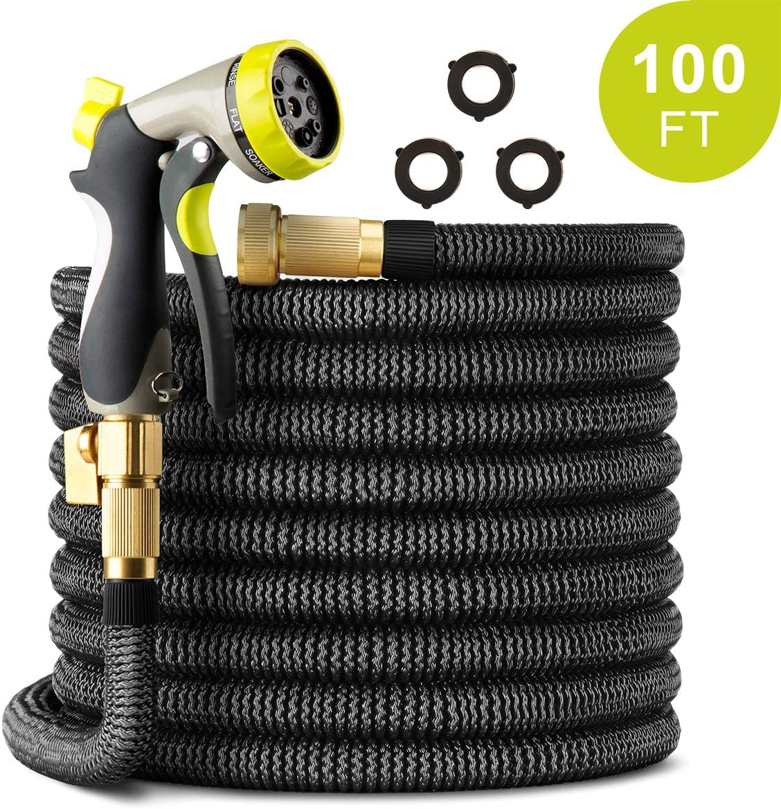 PAMAPIC 100 FT Expandable Garden Hose
