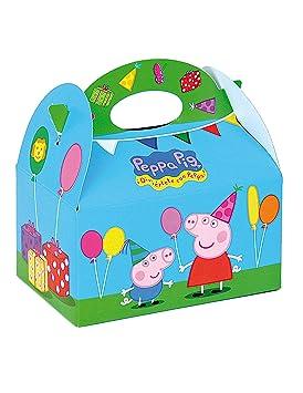 COOLMP - Lote de 6 Cajas de cartón Peppa Pig 16 x 10,5 x 16 ...