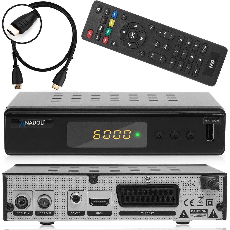 Anadol ADX 111c digitaler Full HD Kabel-Receiver inkl.: Amazon.de ...