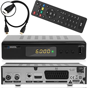 Xaiox Comag DKR 40 Full HD Receptor de Cable Digital (HDTV, DVB-C
