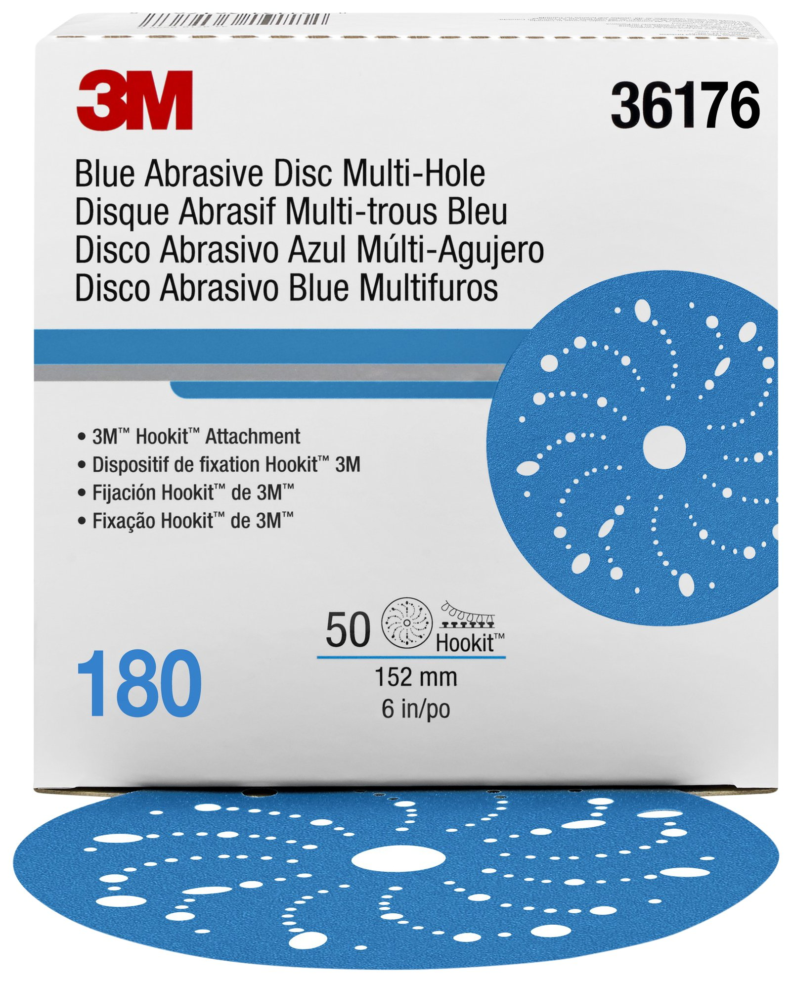 Hookit 36176 Blue Abrasive Disc