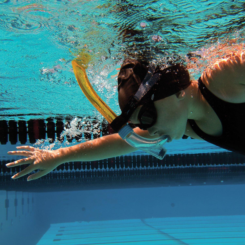 Swimmers Snorkel Jr Amarillo Talla /única FINIS Tubo de respiraci/ón para nataci/ón para ni/ños Yellow