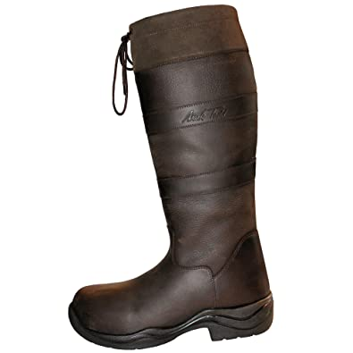 b8a527a7a5a Mark Todd Country Boots Mark II Standard Brown  Amazon.co.uk  Sports    Outdoors