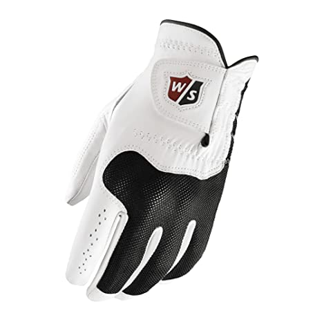 Wilson Conform Guantes para Golf, Hombre, Blanco, XL: Amazon ...