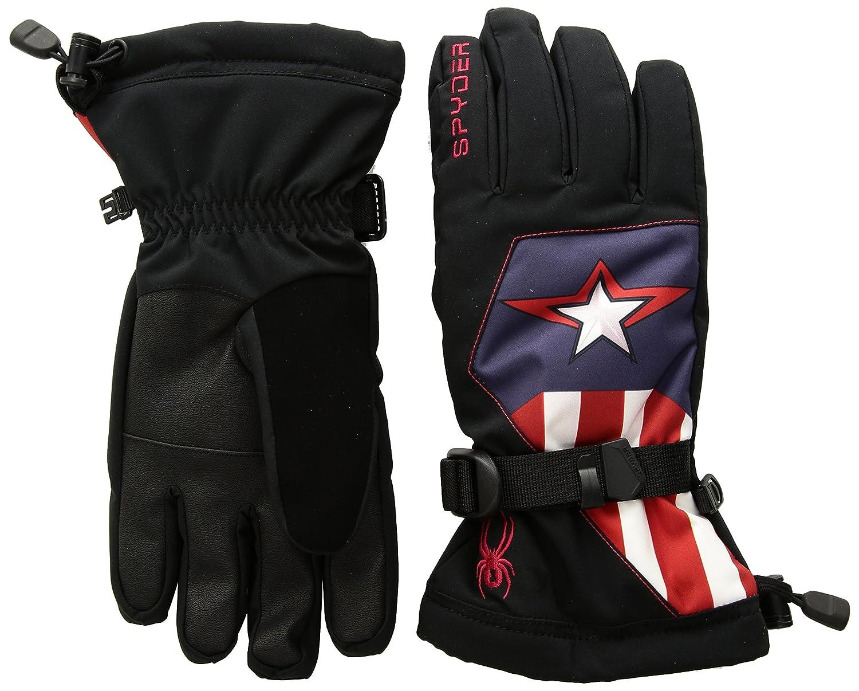 Spyder Active Sports Boys Marvel Overweb Gloves