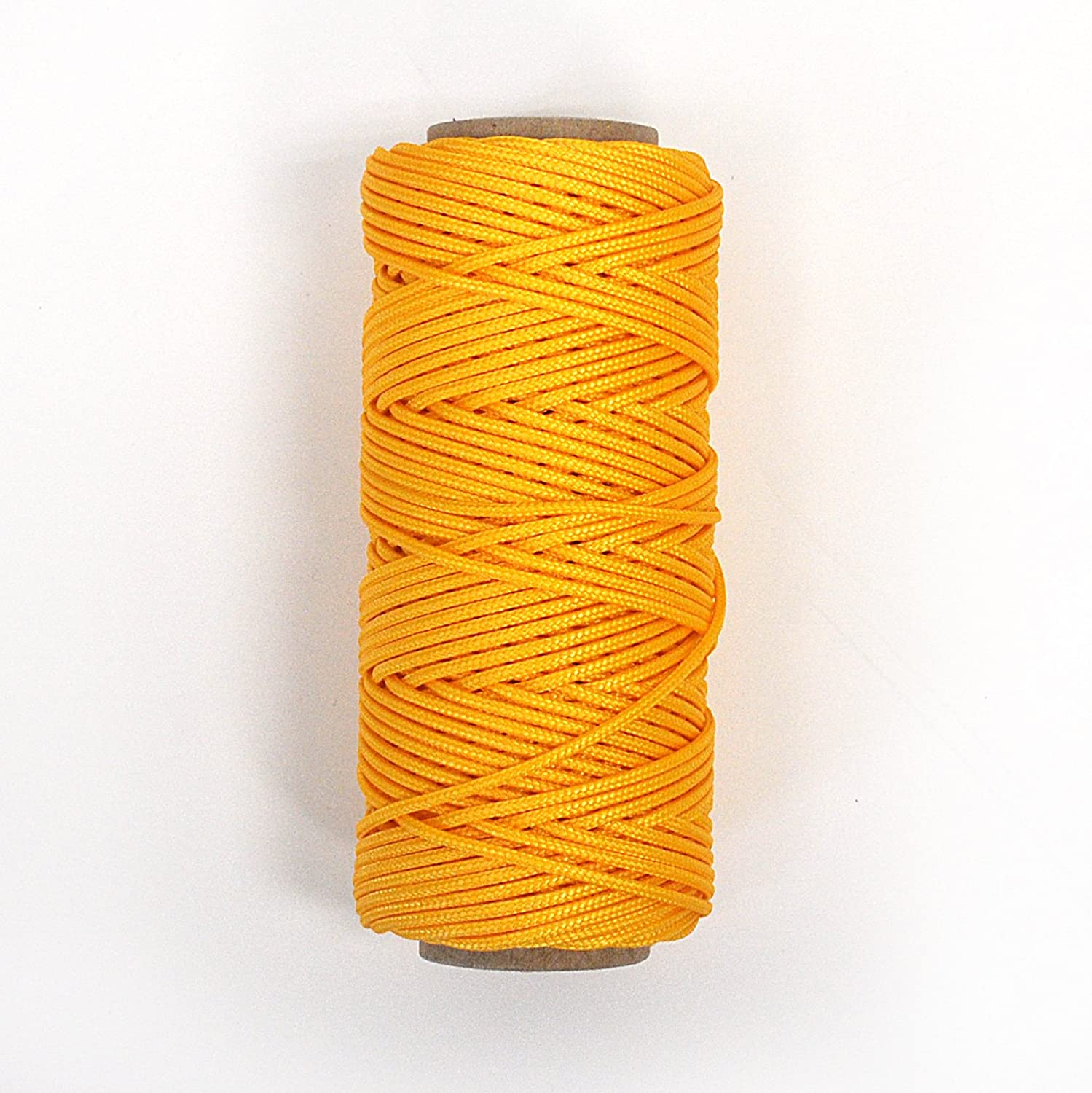 Chrome Yellow 100 foot Spools Accessory /& Utility Cord for Outdoors Handy Hundred Cord 1.4mm - and Knot Tying Craft 2 pack