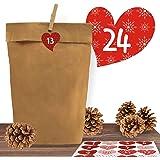 Vbs 12 Wascheklammern Weihnachten Winter Deko Basteln Amazon De