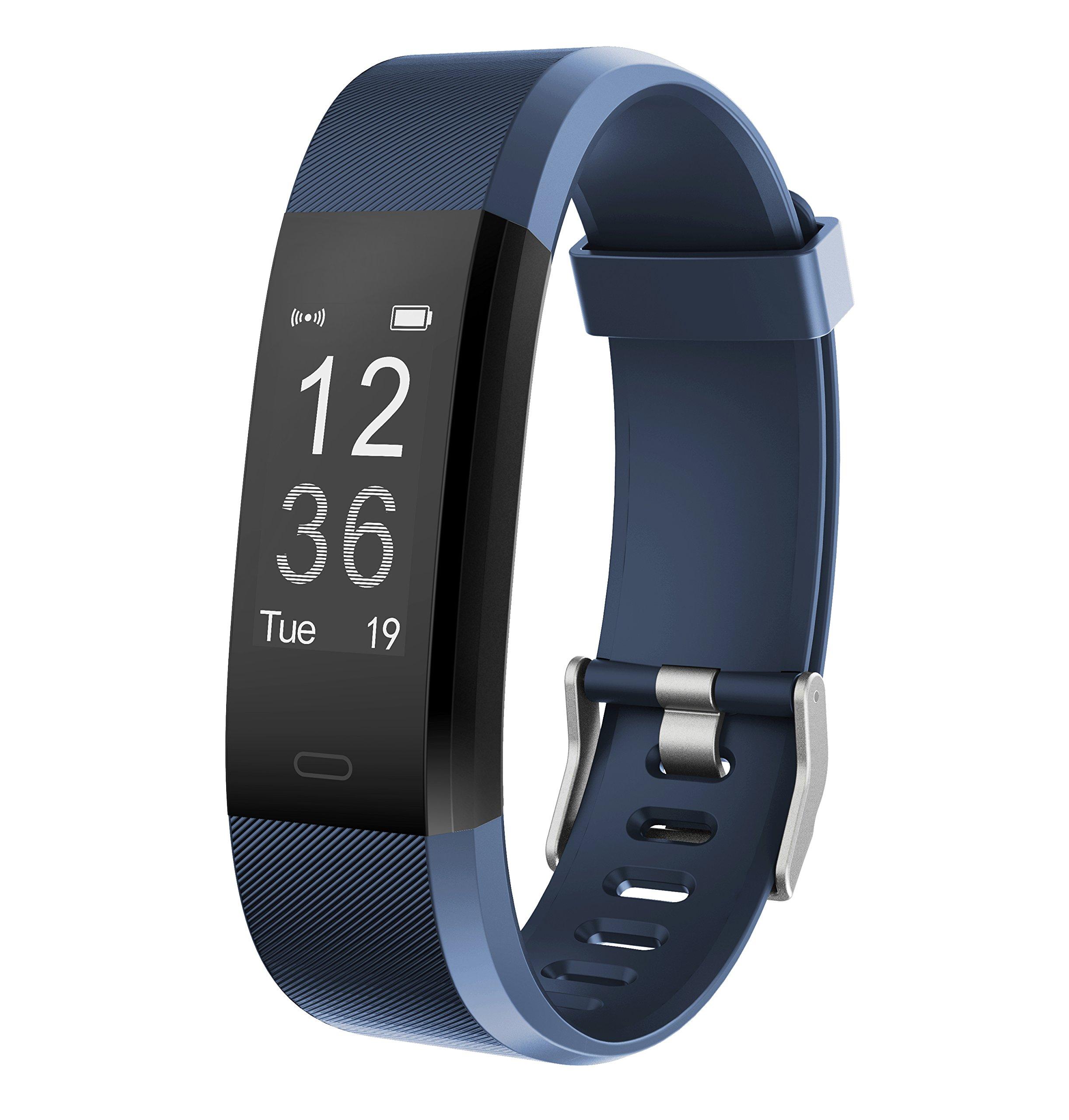 Monitor de Fitness Muzili YG3 Plus Pulsera Actividad Reloj Medidor Deportivo Inteligente Podómetro con monitor de ritmo cardíaco/GPS /Contador de pasos/Control del sueño para Android e iOS … product image