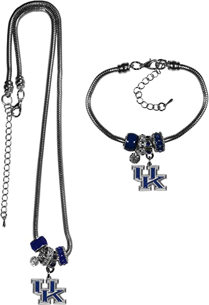 Siskiyou NCAA Euro Bead Necklace