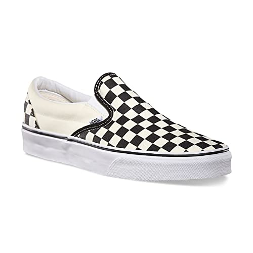 vans slip on check