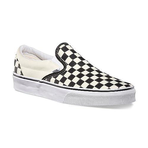 Vans Unisex Checkerboard Slip-On Black/Off White Check VN000EYEBWW Skate Shoes