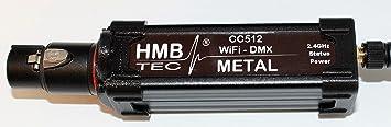 CC512 Metal - Wireless WLAN DMX Interface ArtNet App: Amazon de