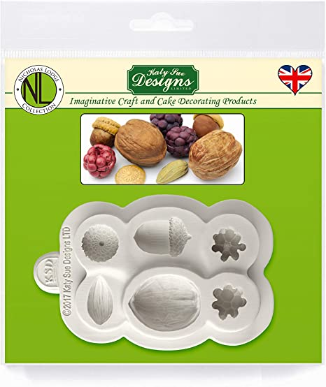 Nuts Berries Molds Fondant Cake Decorating Tools Silicone Molds Baking TooBC