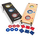 Triumph 2-in-1 Bag Toss/ Washer Toss Combo - Includes 2 Game Platforms, 6 Toss Bags, 6 Washers