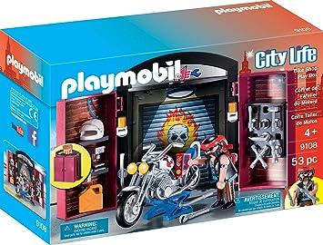 Playmobil 9108 Boite De Rangement Pour Velo Multicolore Amazon Fr Jeux Et Jouets